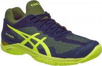 Męskie buty tenisowe Asics Court FF - indigo blue/safety yellow