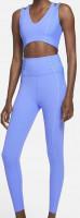 Marškinėliai moterims Nike Yoga Luxe Dri Fit Women's Infinalon Jumpsuit W - royal pulse/aluminum