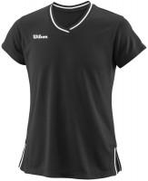Koszulka dziewczęca Wilson Team II V-Neck G - black