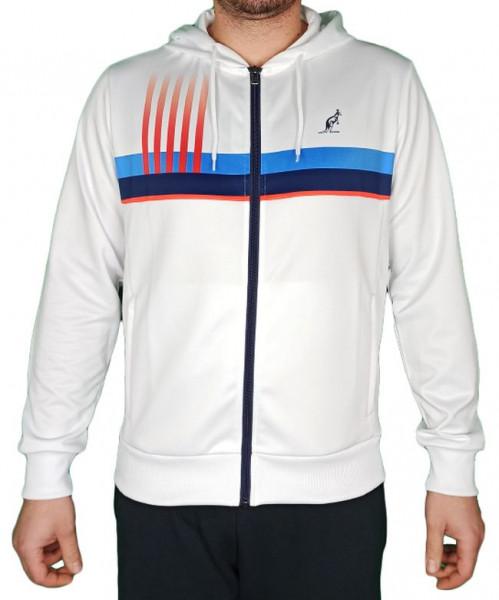 Męska bluza tenisowa Australian Printed Double Jacket - bianco