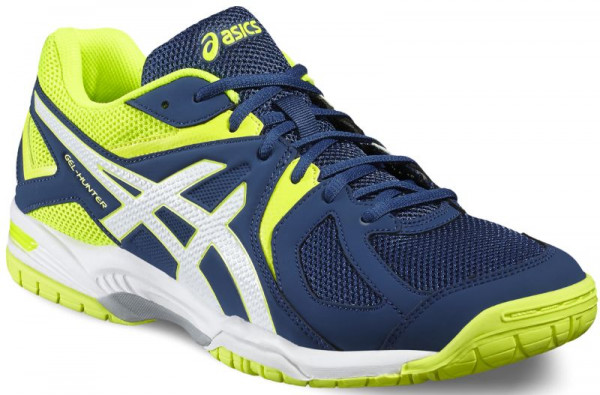 Buty do squasha Asics Gel-Hunter 3 - poseidon/white/safety yellow