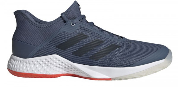 Męskie buty tenisowe Adidas Adizero Club - tech ink/legend ink/active orange