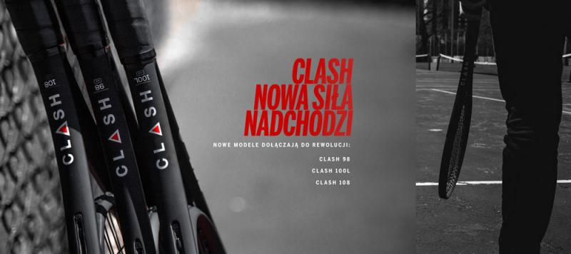 Wilson Clash Nowe Modele