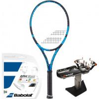 Rakieta tenisowa Babolat Pure Drive 2021 - blue + naciąg + usługa serwisowa