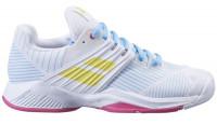Damskie buty tenisowe Babolat Propulse Fury All Court Women - white/sulphur spring