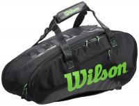 Tenis torba Wilson Super Tour 2 Comp Large - charcoal/green