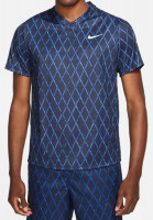 Nike Court Dri-Fit Victory Top Printed M - obsidian/white