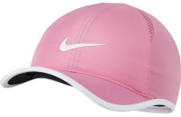 Czapka tenisowa Nike Dry Youth Featherlight Cap - magic flamingo