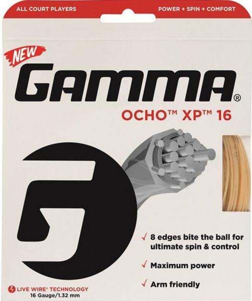 Teniska žica Gamma Ocho XP (12,2 m) - natural