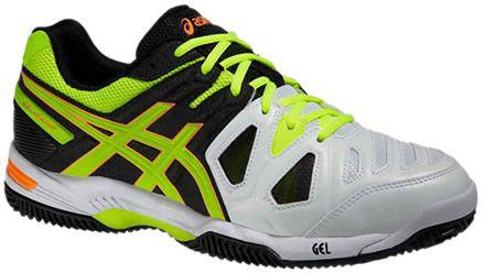 szczegóły dla uznane marki wyprzedaż w sprzedaży Asics Gel-Game 5 Clay - onyx/flash yellow/flash orange