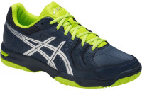 Squash shoes Asics Gel-Squad - insignia blue/silver/energy green