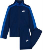 Sportinis kostiumas jaunimui Nike Swoosh Poly Tracksuit U - blue void/game royal/white