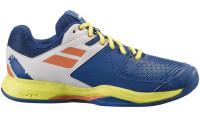 Męskie buty tenisowe Babolat Pulsion Clay Men - dark blue/sulphur spring