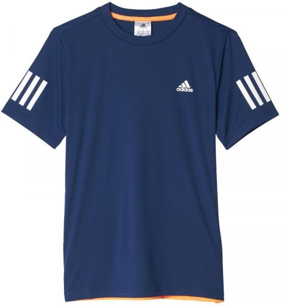 Poiste maika Adidas Club Tee - mystic blue/white