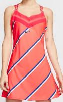 Damska sukienka tenisowa Nike Court Dress PS NT - laser crimson/blackened blue