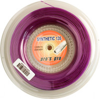 Tennis String Pro's Pro Synthetic 135 (200 m) - violet