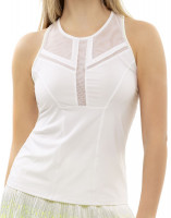 Damski top tenisowy Lucky in Love Nice To Pleat You Del 1 Center Line Tank W - white