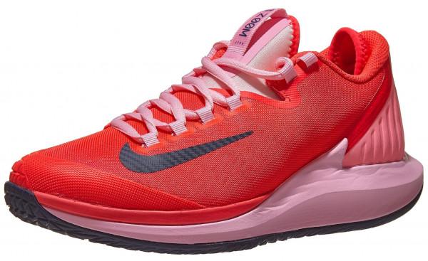 Damskie buty tenisowe Nike W Court Air Zoom Zero - laser crimson/blackened blue/pink