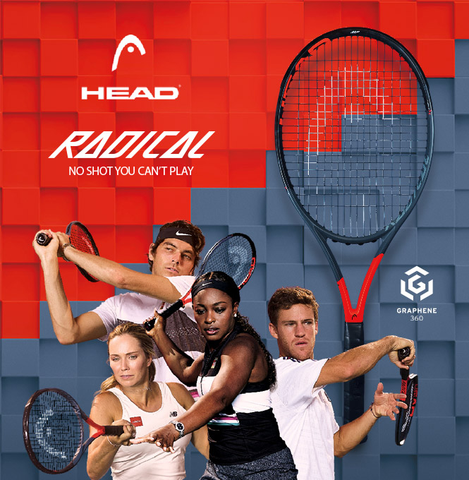 Head Radical Graphene 360