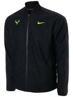 Męska bluza tenisowa Nike Court M Rafa Jacket - black/volt