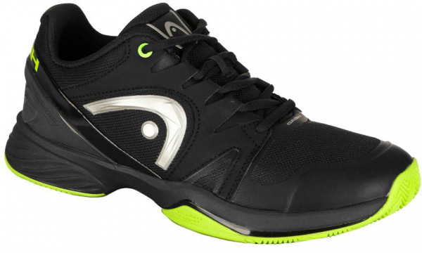 Męskie buty tenisowe Head Sprint Ltd. Clay Men - black/neon green