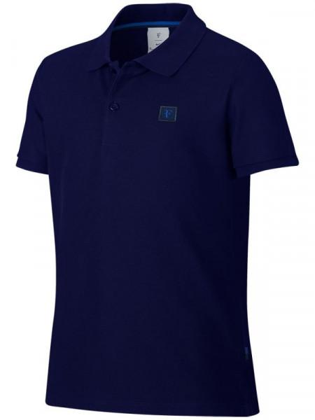 Majica za dječake Nike Boys RF Essential Polo - blue void