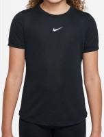 Nike Dri-Fit One SS Top G - black/white