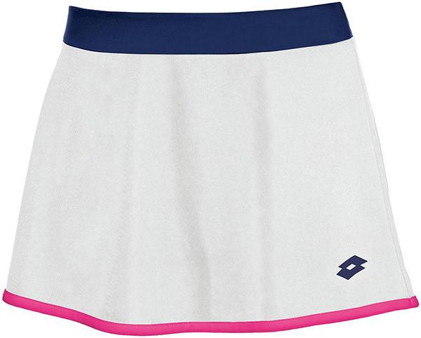 Lotto Skirt Piper - white/blue cosmo