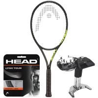 Rakieta tenisowa Head Graphene 360+ Extreme Tour Nite 2021 + naciąg + usługa serwisowa