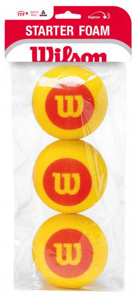 Juniorskie piłki tenisowe Wilson Starter Foam 3B