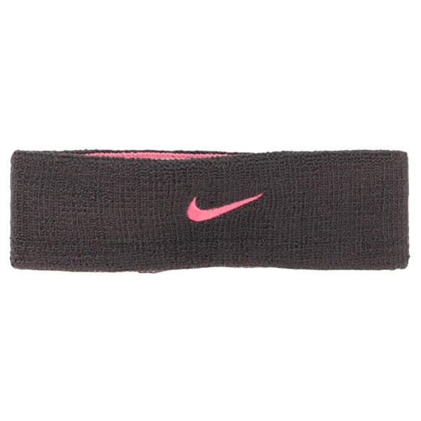 Frotka na głowę Nike Premier Home & Away Headband - anthracite/polarized pink
