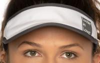 Teniski vizir Lucky in Love Lucky Logo Visor - white