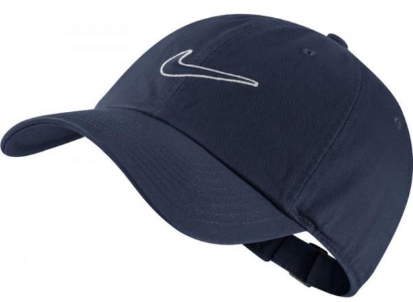 Czapka tenisowa Nike H86 Essential Swoosh Cap - obisidian/obsidian