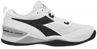 Meeste tennisetossud Diadora Speed Blushield 4 Clay - white/black