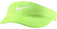 Tenisa nadziņš Nike Court Womens Advantage Visor - lime glow/black