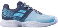 Damskie buty tenisowe Babolat Propulse Blast Clay Women - grey/blue radiance