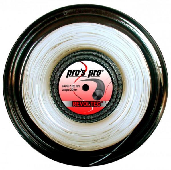 Tennis String Pro's Pro Revoltec (200 m) - white