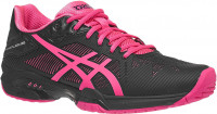 Damskie buty tenisowe Asics Gel-Solution Speed 3 - black/hot pink/silver