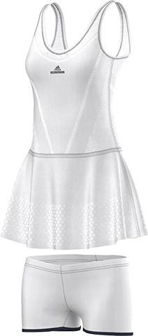 63d601fc88f1b3 Damska sukienka tenisowa Adidas by Stella McCartney Barricade Dress - white