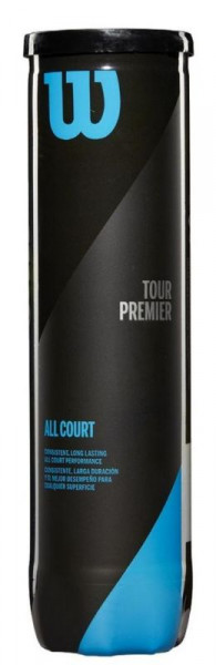 Piłki tenisowe Wilson Tour Premier All Court - 4 szt.