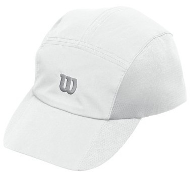 Wilson Rush Stretch Woven Cap - white