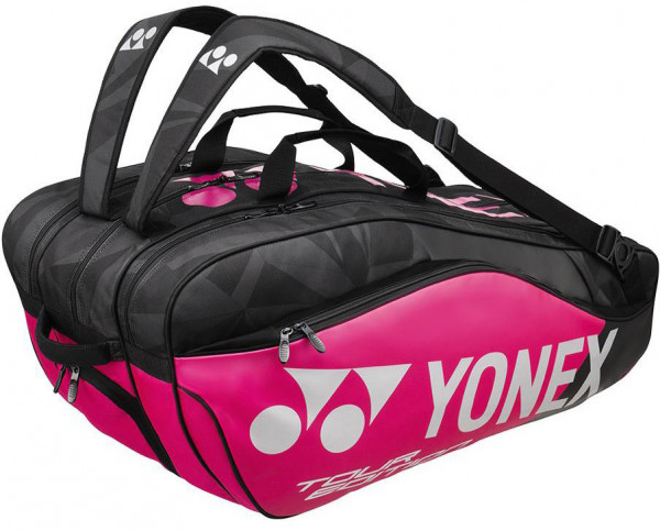 Tenisa soma Yonex Pro Racquet Bag 9 Pack - black/pink/silver