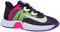 Damskie buty tenisowe Nike W Air Zoom GP Turbo - black/white/fierce purple/liquid lime