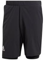 Męskie spodenki tenisowe Adidas 2in1 Shorts Heat.Rdy - black