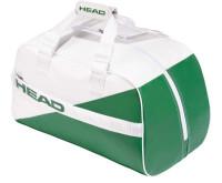 Tenisa soma Head White Court Bag -  white/green