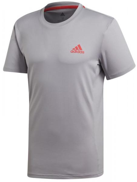 6b427fd9c Adidas Escouade Tee - light granite/shock red | T-Shirty | Odzież ...