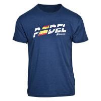 Muška majica Babolat Padel Flag Tee Men - blue heather