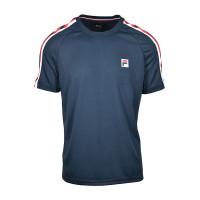 Męski T-Shirt Fila T-Shirt Linus M - peacoat blue