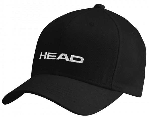 Czapka Tenisowa Head Promotion Cap - black