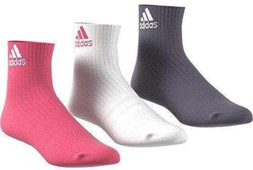 Adidas 3S Performance Ancle HC 3PP - 3 pary/white/pink/purple